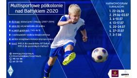 Półkolonie 2020 z Bałtykiem Gdynia