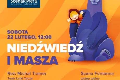   Niedźwiedź i Masza - czyli gdzie moja kasza? - przedstawienie dla dzieci