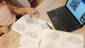ON-LINE: Rysujemy liście z Leśnym Ogrodem Botanicznym