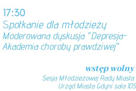 Depresja - Akademia choroby prawdziwej / spotkanie dla młodzieży