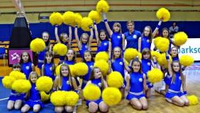 Sharks Dance Team na meczu Asseco Prokom Gdynia