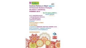 Konkurs Poetycki dla dzieci i młodzieży Piórnik 2014