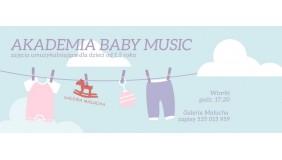 Akademia baby music - zajęcia umuzykalniające dla maluszków