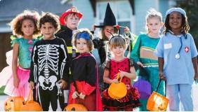Bal halloweenowy dla dzieci w wieku 3 - 8 lat.