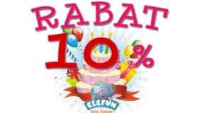 Przyjęcia urodzinowe w Elefun - rabat 10%