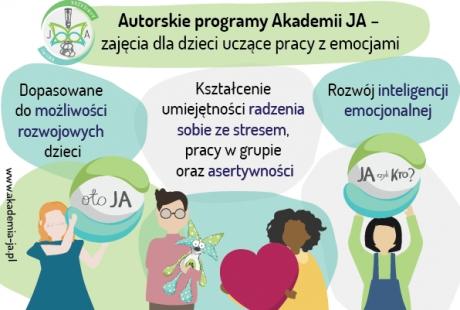 Oto JA - program rozwoju inteligencji emocjonalnej dla dzieci
