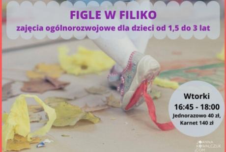 Figle w Filiko - co drugi wtorek 16:45 - 18:00