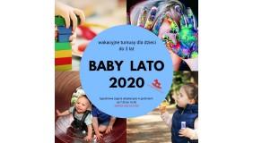 BABY WAKACJE 2020 - propozycja na wakacje dla dzieci w wieku do 3 lat
