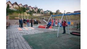 Wiekie otwarcie placu zabaw w Wielkim Kacku