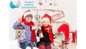 Rodzinne świąteczne zdjęcie - sesja foto