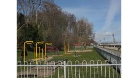 Plac zabaw na Bulwarze Nadmorskim