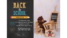 Mini sesje Powrót do szkoły