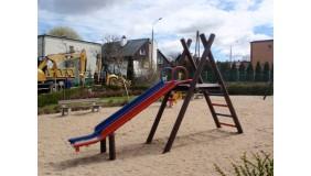 Plac zabaw przy ul. Bławatnej (naprzeciwko Przedszkola nr 46)