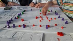 Warsztaty z projektowania gier planszowych i karcianych.