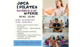 Joga i pilates dla dzieci w ferie