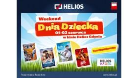 Weekend Dnia Dziecka w kinie Helios Gdynia 1-3 czerwca 2018