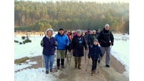 Rajd Krajoznawczy Nordic Walking do Ogrodu Botanicznego w Marszewie
