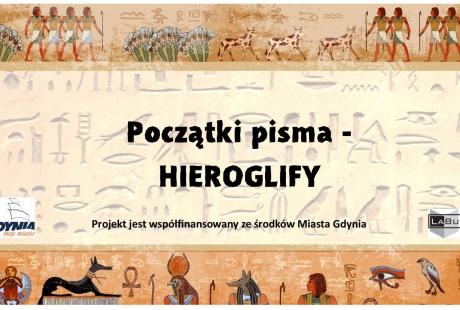 Początki pisma - hieroglify