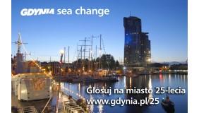 """Gdynia walczy o tytuł """"Miasto 25-lecia"""" - głosujmy :)"""