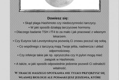 Warsztat Oswoić Tarczycę - Przewodnik po kobiecej biologii