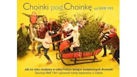 """""""Choinki pod choinkę"""" od RMF FM"""