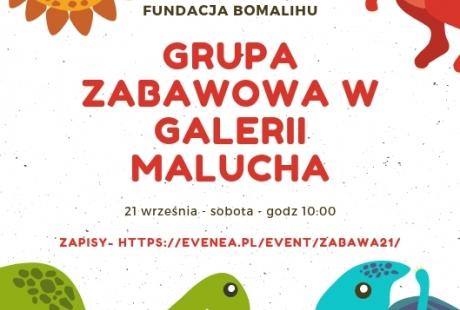 Grupa zabawowa w Galerii Malucha
