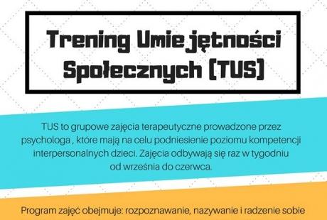 Trening Umiejętności Społecznych (TUS) dla dzieci od 4-12 lat