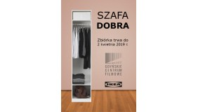 SZAFA DOBRA. POMAGAMY RAZEM Z IKEA GDAŃSK
