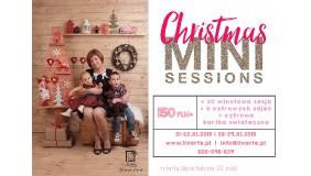 Wyjątkowe świąteczne mini sesje rodzinne