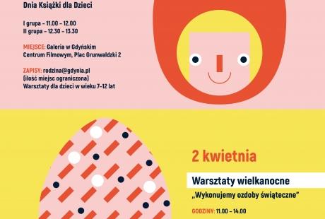 """Gdynia Rodzinna zaprasza na warsztaty plastyczne """"Czerwony Kapturek wczoraj i dziś -  zabawy z książką i ilustracją"""""""