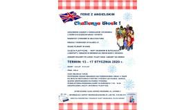 """Ferie 2020 z angielskim """"Challenge Week"""" - zapisy"""