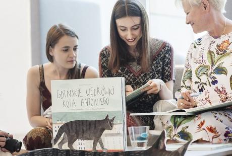 """""""Gdyńskie wędrówki kota Antoniego"""" – czytanie w muzeum dla dzieci 2+ z opiekunem"""