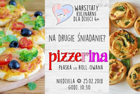 Pizzerinki na Drugie Śniadanie! | Warsztaty dla dzieci 4+