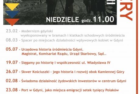 Spacery po Gdyni z historią w tle