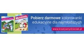 Kreatywnydzieciak.pl – darmowa baza dydaktyczna z kolorowankami dla dzieci