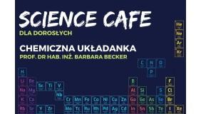 SCIENCE CAFE dla dorosłych. Chemiczna układanka