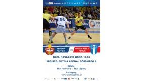 16. kolejka PGNiG Superliga Spójnia Gdynia vs. Orlen Wisła Płock