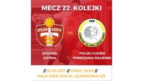 Spójnia Gdynia, a Polski Cukier Pomezania Malbork