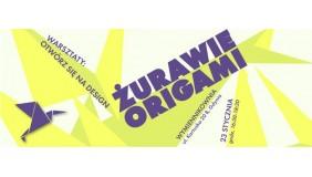 Warsztaty: Otwórz się na design - żurawie origami