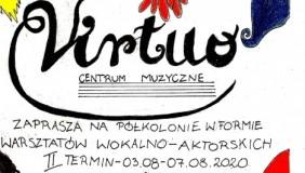 """Letnie warsztaty wokalno - aktorskie """"Z musicalem w tle"""". Lato 2020"""