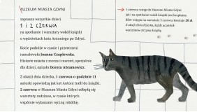 Dzień dziecka! Spotkanie z kotem Antonim