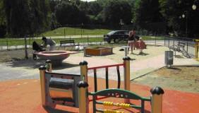 Plac zabaw w Parku Kilońskim