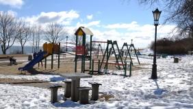 Plac zabaw w Parku Marysieńki (przy molo w Orłowie)