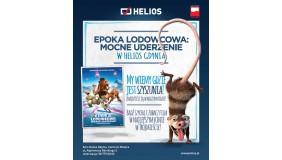 """""""Epoka lodowcowa: Mocne uderzenie"""" w Kinie Helios Gdynia!"""