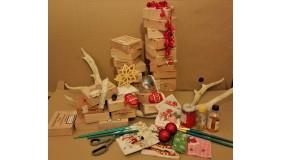 Zróbmy razem świąteczne pudełka - bezpłatne warsztaty Decoupage
