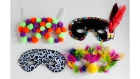 Ciuciubabkowa Fabryka Zabawek - maski karnawałowe