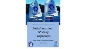 Rekrutacja do klasy IV o profilu żeglarskim!!