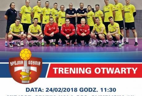 Trening otwarty z Klubem Spójnia Gdynia!