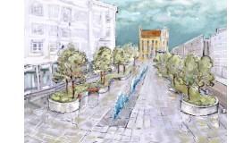 Plac Kaszubski w parkowej odsłonie