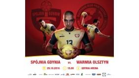 Spójnia Gdynia vs.Warmia Traveland Olsztyn